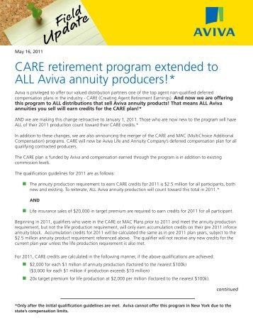 CARE program extended - ECA Marketing