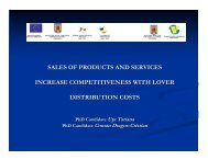 sales of products and services increase competitiveness ... - ecr-uvt
