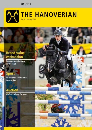 The Hanoverian, Issue I 2011 - the American Hanoverian Society!