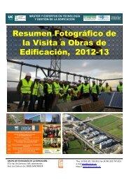 Visitas a Obras del PCTCAN - Universidad de Cantabria