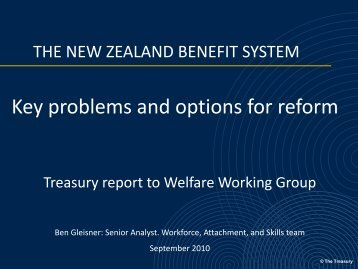 Key problems and options for reform - Institute for Governance and ...