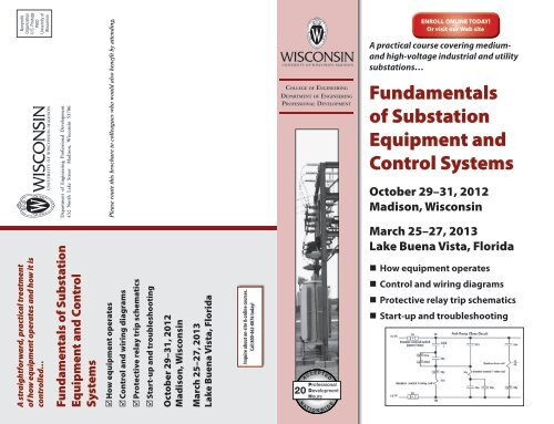 Fundamentals of Substation Equipment and Control Systems