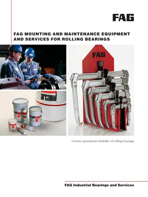 fag mounting and maintenance equipment and services for rolling ...