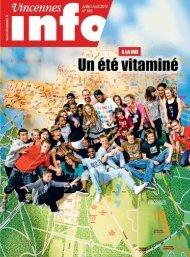 juillet/août 2010 - Ville de Vincennes