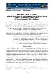 az európai uniós és a hazai légiforgalmi irányítói szakszolgálati ...