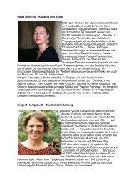 Biografien - Niederlausitz aktuell