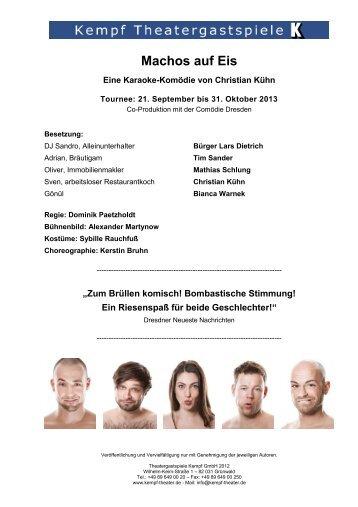 Machos auf Eis - Theatergastspiele Kempf GmbH