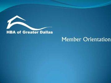 HBA of Greater Dallas - Dallas Builders Association Dallas Builders ...