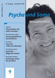 Psyche und Soma 9 - Medical Tribune