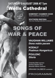 SONGS OF WAR & PEACE - Powernet User Pages