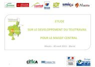 le massif central - Emploipublic.fr