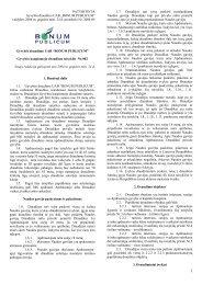 valdybos 2004 m. gegužės mėn. 24 d. protokolo Nr ... - I-Manager