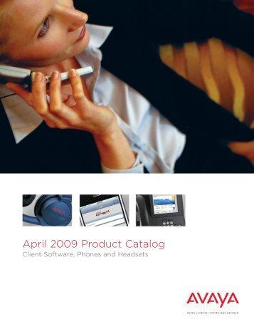 April 2009 Product Catalog - Fiore