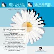 Keski-Suomen päivä 2009 (pdf) - Keski-Suomen liitto