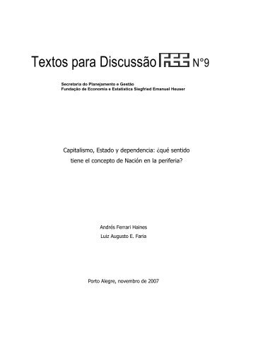 Ref.9 Andrés Ferrari e Luiz Augusto Faria - FEE