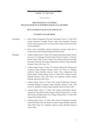 peraturan daerah kota payakumbuh nomor : 03 tahun 2008 tentang ...