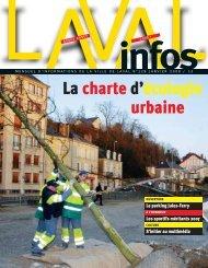 La charte d'écologie urbaine - Laval
