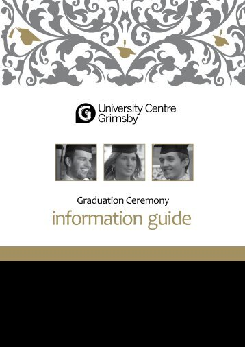 information guide - Grimsby Institute of Further & Higher Education