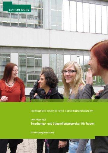 Forschungs- und Stipendienwegweiser für Frauen - Universität ...