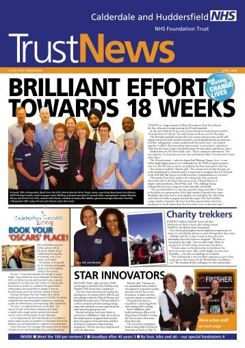 star Innovators - Calderdale and Huddersfield NHS Foundation Trust