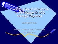 Setting Play Dates: Creating Social Opportunities for Young Child ...