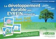 info developpement durable en 5 points - Eyrein-industrie