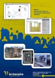 Flyer SCA-IT Sistema HW e SW per il Telecontrollo degli ... - Watergas