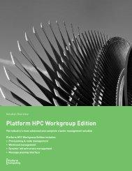 Platform HPC Workgroup Edition - Viglen