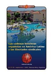 Las cadenas hoteleras españolas en América Latina y