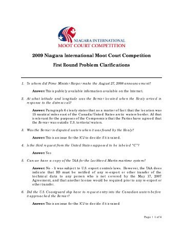 moot court problem Download moot court memorials: 134 moots, 268 prize winning memos we thank the students and moot court societies of all the colleges involved a big thank you to all our campus leaders involved  link/url to the moot court problem.