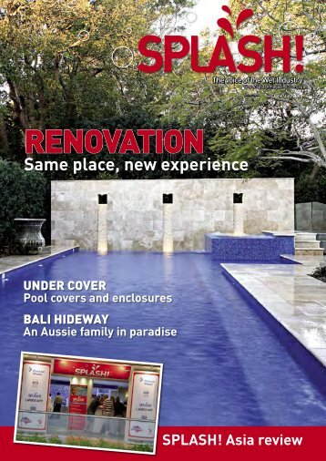 RENOVATION - Splash Magazine