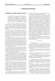 1. Disposiciones generales - Junta de Andalucía