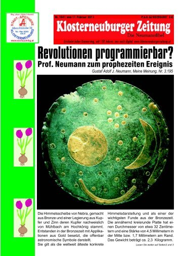 Ausgabe 17.02. herunterladen - klosterneuburgerzeitung.at