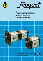 Componentes oleo-dinámicos para instalaciones ... - dominga.lt