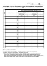 L102 - Doplňková tabulka