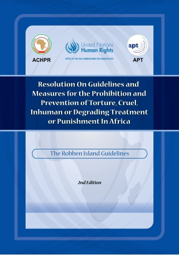 Resolution On Guidelines and Measures for the Prohibition and ...