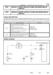 dtc c0278/11 open circuit in abs solenoid relay ... - Highlander Club