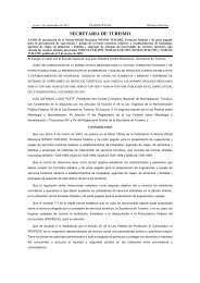AVISO de Cancelación de la NOM-01-TUR-2002