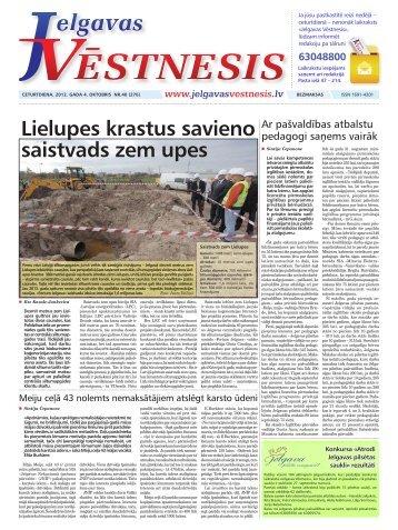 2012.gada 4.oktobris Nr.40(276) - Jelgavas Vēstnesis