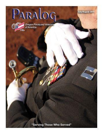 Jul-Aug 2011 - Oregon Paralyzed Veterans of America