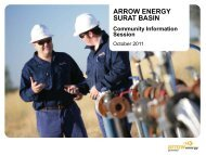 surat basin - Arrow Energy