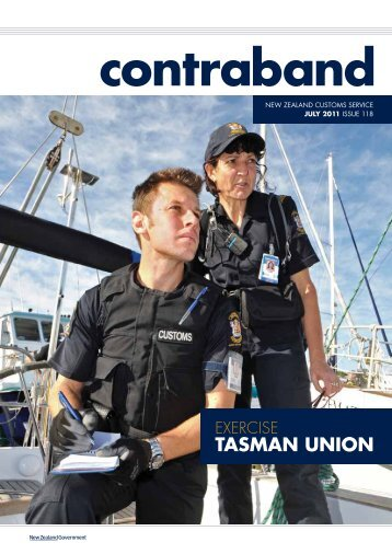 TASMAN UNION - Contraband - NZ Customs