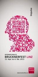 BRUCKNERFEST LINZ - Brucknerhaus