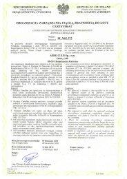 certyfikat MG