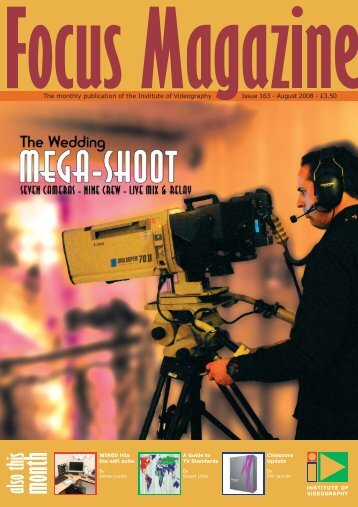 Focus - Institute of Videography