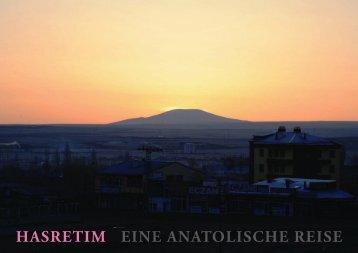 HASRETIM EINE ANATOLISCHE REISE - Andrea Molino
