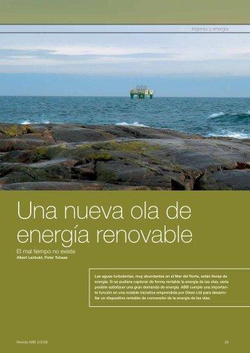 Una nueva ola de energía renovable