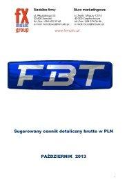 FBT Pro Audio Equipment - FX-Music Group