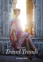 Brochures /Luxury Travel Trends - Carrier