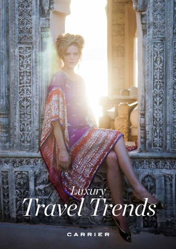 Brochures /Luxury Travel Trends - Carrier